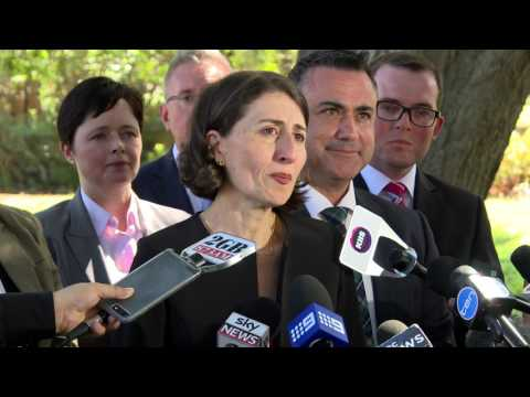 Swearing-in of the NSW Government Cabinet Ministers (with audio description)