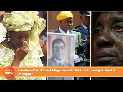Unbelievable! Robert Mugabe Rest In Peace in Singapore, what is the secret behind?
