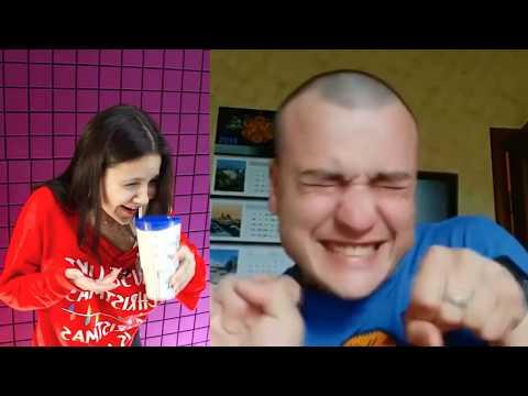 Самое смешное видео в мире. Попробуй не засмеяться с водой во рту челлендж ч. 78