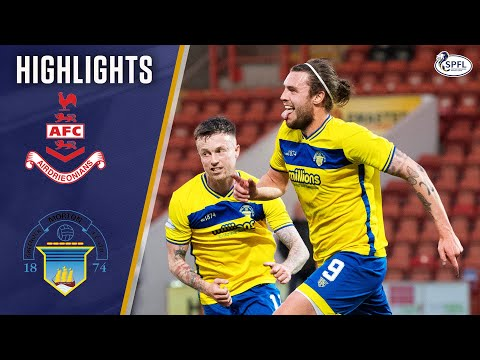 Airdrieonians Morton Goals And Highlights