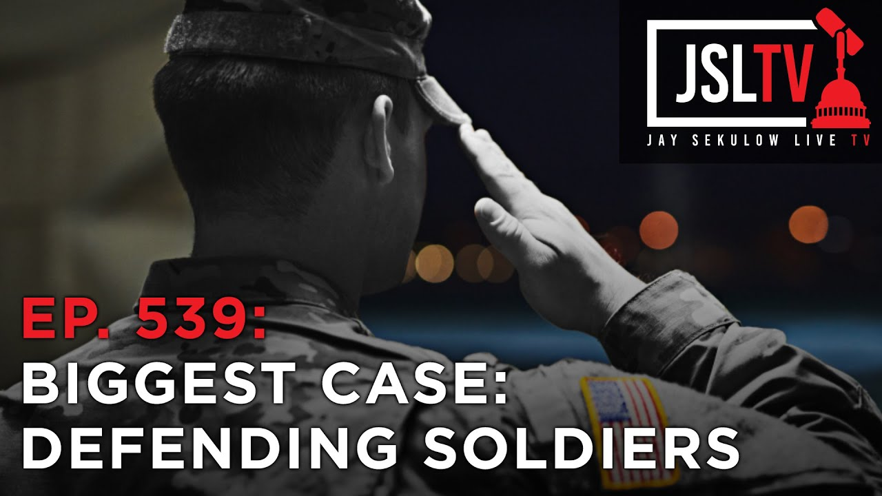 Our Biggest International Case - Defending Soldiers Interests at ICC Ep. 539