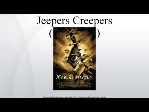 Jeepers Creepers 2001 film Wiki Article