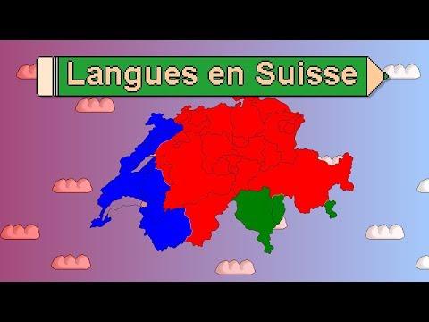 Géographie des langues en Suisse