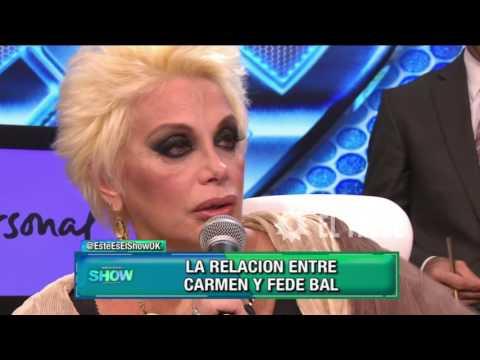 Un resumen de la relación entre Carmen Barbieri y Fede Bal