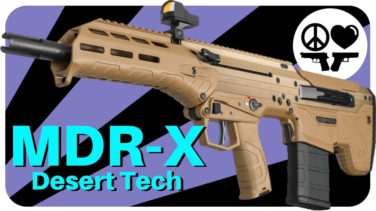 Best Bullpup Out There? Desert Tech MDR-X 6.5 Creedmoor Review