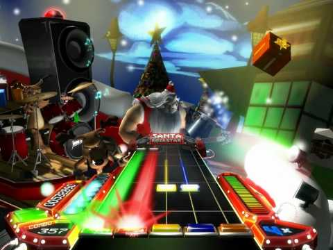 Santa Rockstar HD - No presents for you (Perfect)
