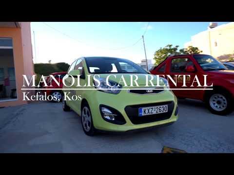 Manolis Car Rental Kos Island Greece Youtube