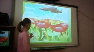 Лизфрагмент урока в классе ССД с применением ИКТ