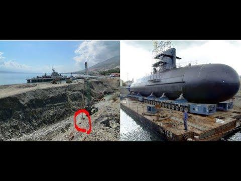 """Seharusnya Dunia Militer Tak Harus Tau Pangkalan Kapal Selam Terbaru TNI"""" Akhirnya Begini Jadinya"""