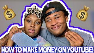 HOW TO START/MAKE MONEY ON YOUTUBE!!