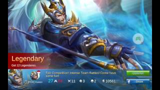 Mobile legends - Yun Zhao Legendary Build [RANKED GAME]