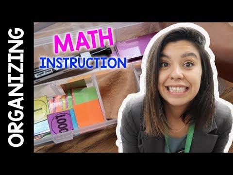 Organizing Math Instruction | Teacher Vlog | Week 7