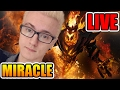 🔴miracle- Shadow Fiend 9124 Mmr Dota 2 7.01 Live Stream video