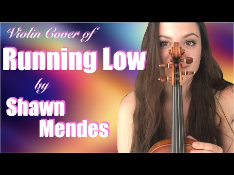 SHAWN MENDES RUNNING LOW ~ COVER
