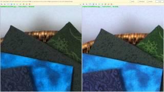 Nikon D800E vs Pentax K5 II Resolution Test part 1
