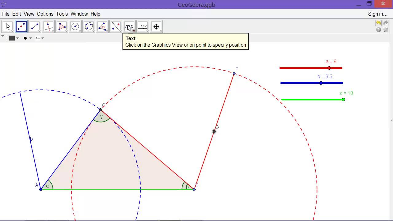 Visualizing Triangle Inequalities - Enhancements
