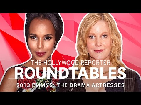 Kerry Washington, Kate Mara and more Drama Actresses on THR's Roundtable | Emmys 2013