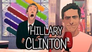 ACTU ANIMÉE #9 - Hillary Clinton
