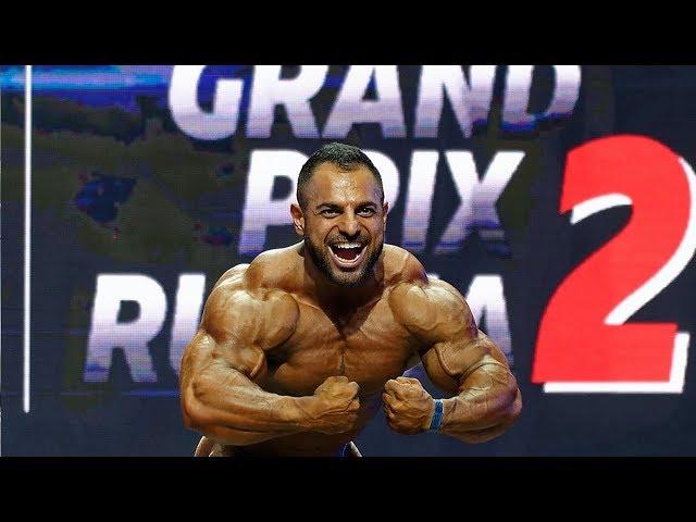 Ашот Каграманян / Shotia Kagramanyan, команда ЖИВАЯ СТАЛЬ, Guest Posing Video - GP Russia II, NBC.