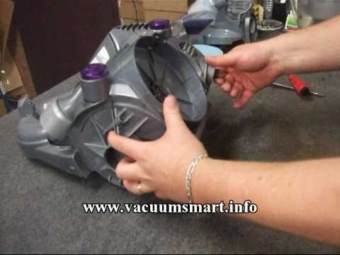 How To Change The Motor In A Dyson DC08 Vacuum Cleaner