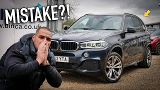 I BOUGHT A HIGH MILEAGE BMW X5! Mistake?