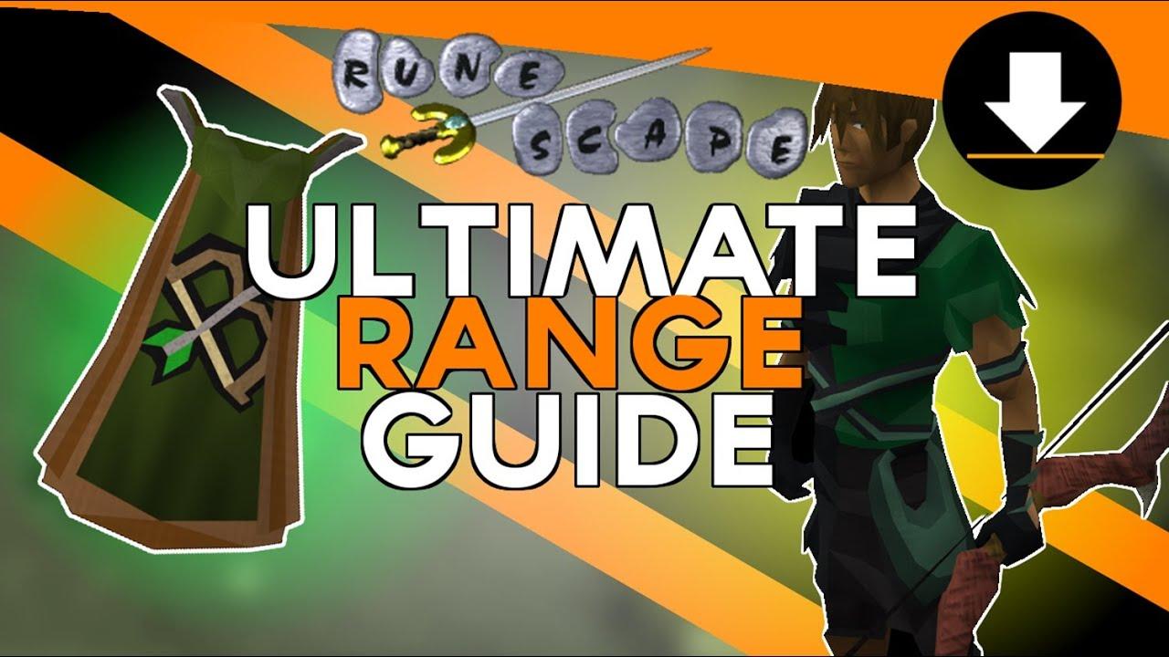 Old school runescape ultimate range guide 1 99 for Runescape exp table 1 99