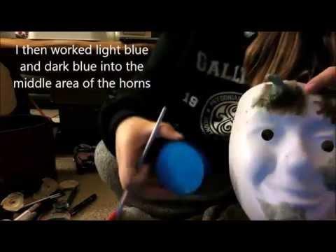 Abi's Vlog Halloween Makeup Tutorial EASY DIY Latex Magical Dark Elf/ Fairy Horns