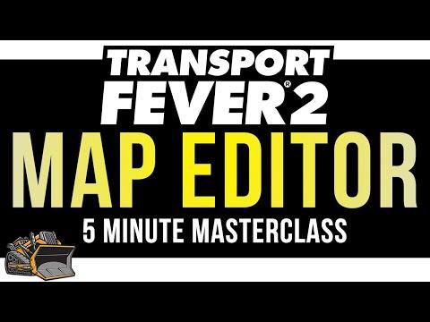 Map Editor Tutorial | Transport Fever 2 Custom Maps | 5 Minute Masterclass Tutorial And Guide