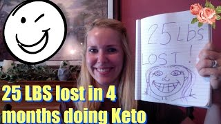 25 pound weight loss on ketogenic diet keto diet success story