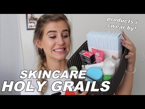 UPDATED SKINCARE ROUTINE / HOLY GRAILS !