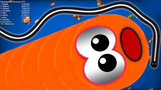 WormsZone.io 1,650,000+ Score Epic Worms Zone io Best Gameplay! #18 screenshot 5