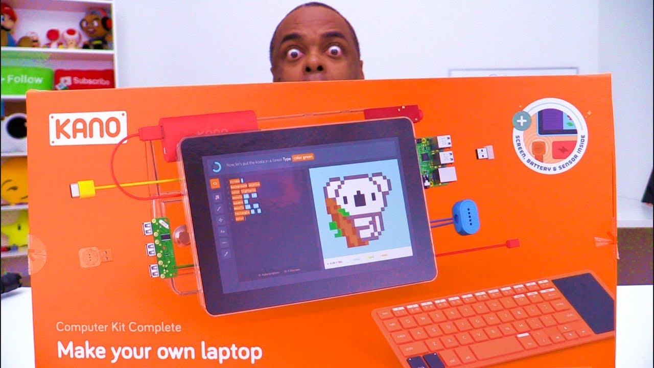 BUILD YOUR OWN LAPTOP KIT!