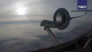 Кадры дозаправки боевых самолетов в воздухе