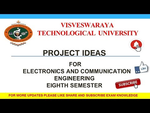 Project Ideas For Electronics And Communication Engineering Eighth Semester
