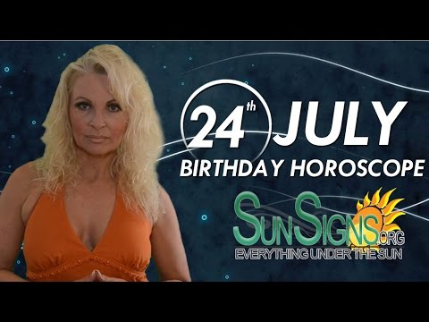 July 24 Zodiac Horoscope Birthday Personality | SunSigns Org