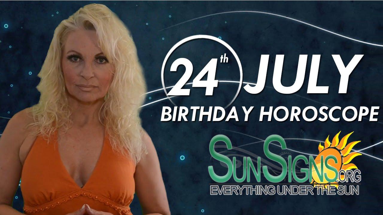 July 24 Zodiac Horoscope Birthday Personality | SunSigns Org
