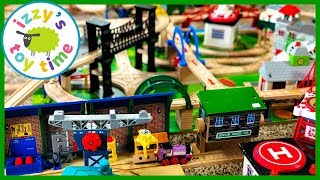 ADDING TO ISAIAH'S TRACK! With Thomas and Friends and Brio! Fun Toy Trains