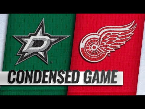 10/28/18 Condensed Game: Stars @ Red Wings