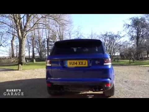 Range Rover Sport SVR drive review