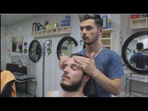 ASMR Turkish Barber Face,Head And Body Massage 134 💆♂️👍💈