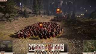 Total War: Rome 2 - 10 Minuten Spielszenen aus der Schlacht im Teutoburger Wald