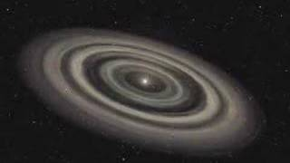Debris Disk Outside a Planetary System, animation of