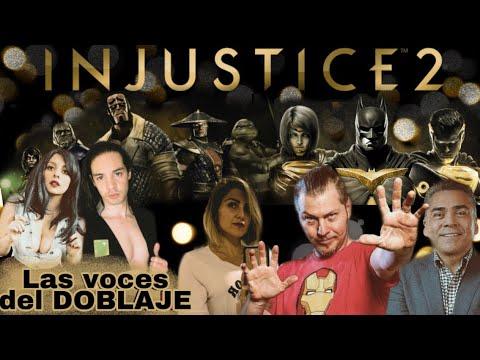 TODAS LAS VOCES DE INJUSTICE 2 | Los Actores de Doblaje ~Español Latino~