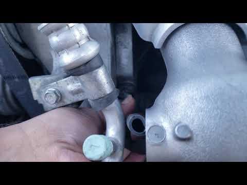 K20z3 pcv valve replacement