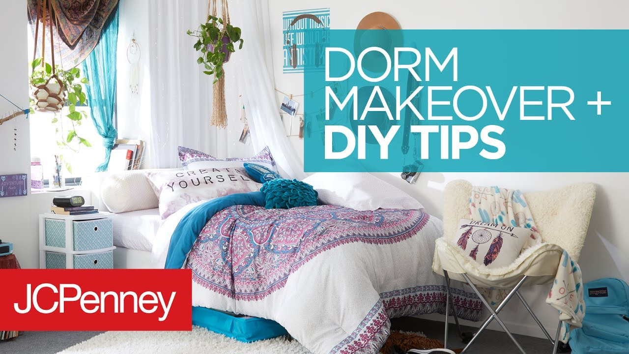 Dorm Room Makeover: DIY Dorm Room Organization Ideas | JCPenney Part 66