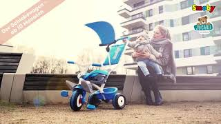 Tricicletă Baby Balade Blue Smoby cu roţi EVA de l