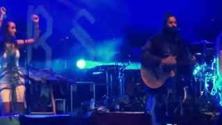 Crystal Fighters - Plage (live @ inmusic 2014, Zagreb)