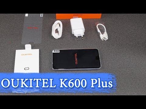 Oukitel K6000 Plus обзор смартфона с супер аккумулятором и 5.5 дисплеем