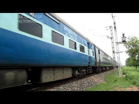 High Speed WDM-3A:Patna-Kota Express at 110Kmph!!!