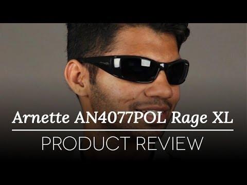Arnette Sunglasses Review - Arnette AN4077POL Rage XL 41/81 Sunglasses